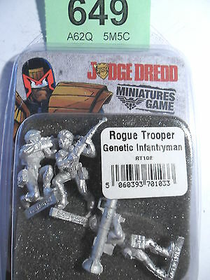Judge Dredd Miniature Game Rogue Trooper Genetic Infantryman 2000 AD Lot 649
