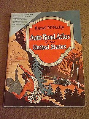 Rand McNally Auto Road Atlas of the United States 1976 50th Anniversary Issue