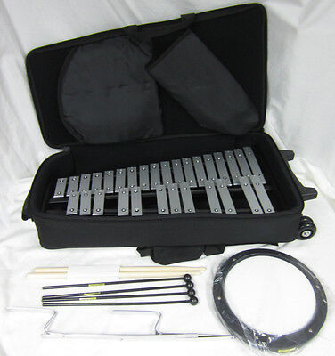 Mirage GPBK1 Bell Xylophone + Rolling Bag Student Percussion Kit No Stand