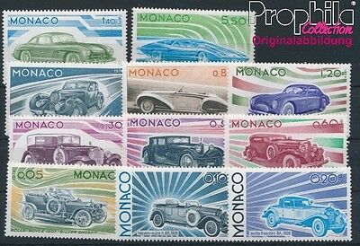 Monaco 1191-1201 unmounted mint / never hinged 1975 Automotive (8940399