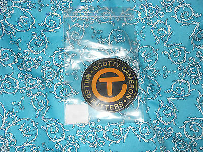 New Scotty Cameron School Bus Yellow Circle T Sticker Nice Fathers Day Gift Idea