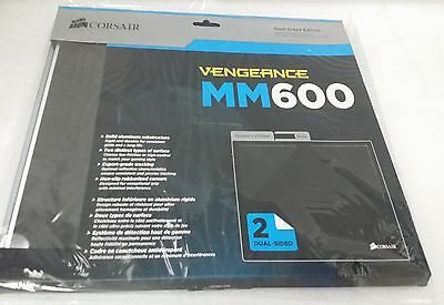 New Corsair Ch-9000104-Ww Mm600 Dual-Side Edition Aluminum Gaming Mouse Mat
