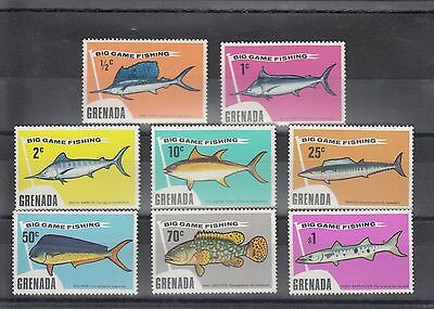 Timbre Stamp  8  Grenade Y&t#549-56 Poisson Fish Neuf**/mnh-Mint 1988~A01