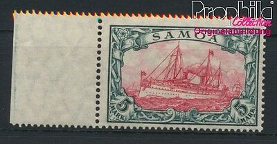 Samoa, German Colony 23II A MNH 1915 Ship Imperial Yacht Hohenzollern (8984460
