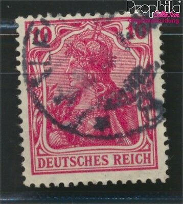 German Empire 86II D proofed fine used / cancelled 1915 Germania (8984335