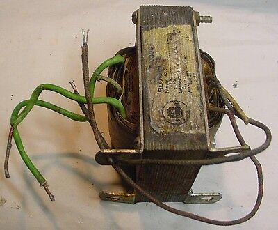 Stancor 6.3 V CT 10 Amp  Filament Transformer P-6308 107/117 VAC in