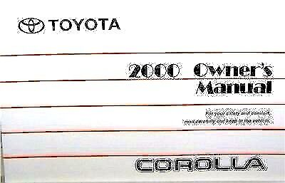 new toyota owner s manual case cover holder black oem leather vinyl rh picclick com 1993 toyota corolla service manual pdf 93 toyota corolla owners manual