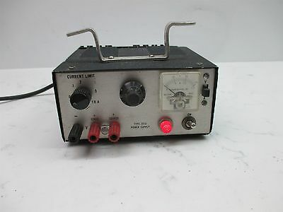 Thornton Associates Type 201D Power Supply Current Limiting Lab Laboratory Unit