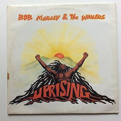 Bob Marley & The Wailers 'uprising' 1980 Orig Uk Press Lp Ex+ Play Island Labels