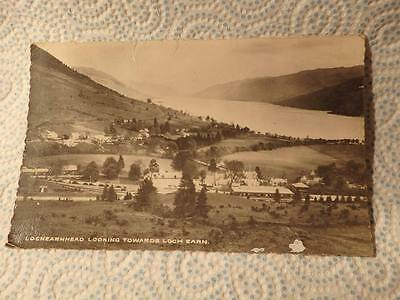 @ Vintage Postcard - Lochearnhead Looking Towards Loch Earn Scotland (J)