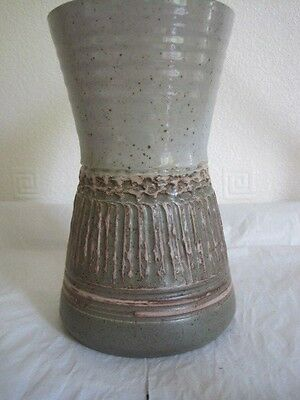 Attractive Purbeck Pottery Stoneware Vase, 7.5 Inches High