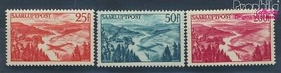 Saar 252-254 unmounted mint / never hinged 1948 Airmail (8194373
