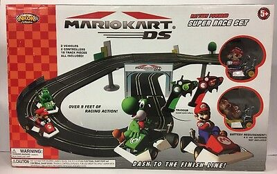 Mario Kart DS Slot Car Track Set Brand New In Box Never Opened Racing NKOK