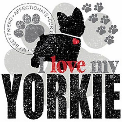 I Love My Yorkie Yorkshire Terrier Tote