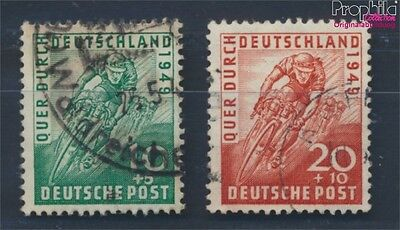 Bizonal (Allied Cast) 106-107 fine used / cancelled 1949 Cycling (8717114
