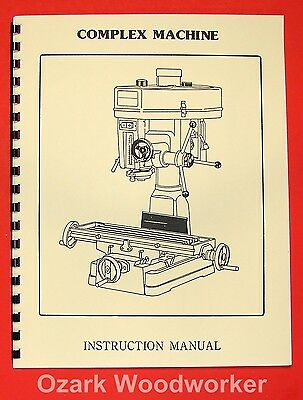 "Asian Complex, Enco, MSC, 15"" Drill Mill Instructions & Parts Manual 0015"