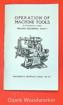 Operations Manual for Horizontal Milling Machine Part 1 0499