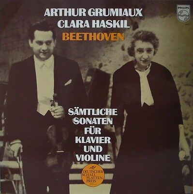Beethoven - Philips 6733001  Complete Sonatas For Violin/piano - Grumiaux/haskil