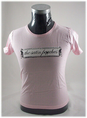 THE SATIN PEACHES Logo ladies promo t-shirt (Medium)