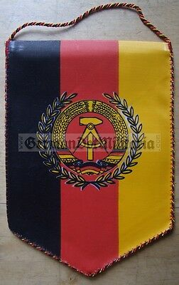 lc2) East German NVA Army award pennant table flag Wimpel Cold War Berlin DDR