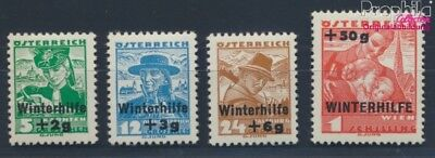 Austria 613-616 (complete issue) with hinge 1935 Winter Aid (8717337