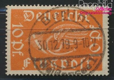 German Empire 111b proofed fine used / cancelled 1919 Horn (8984323