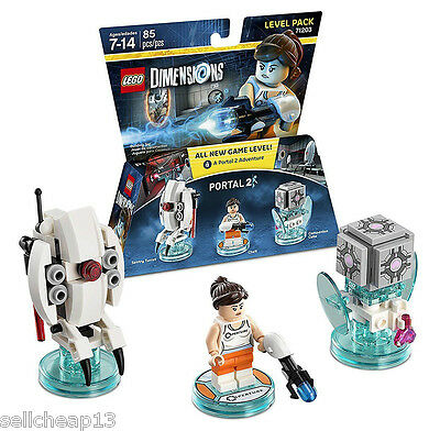 Lego_Portal 2_Lego_Dimension_Level Pack_71203_New_Free_Shipping_Fast