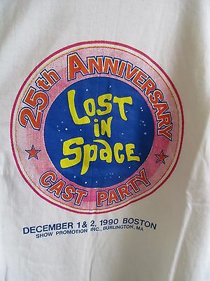 1990 LOST IN SPACE 25th ANNIVERSARY CAST PARTY SHOW PROMO SHIRT MENS MEDIUM