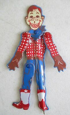 1988 Nbc Leadworks Howdy Doody Figural Pen W/ Moving Arms Head And Leg