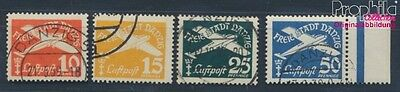 Gdansk 298-301 fine used / cancelled 1938 Postage stamp, WZ 5 (8209744
