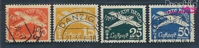 Gdansk 298-301 fine used / cancelled 1938 Postage stamp, WZ 5 (8209745