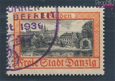 Gdansk 297 fine used / cancelled 1938 Postage stamp, WZ 5 (7783674