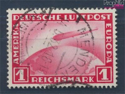 German Empire 455 fine used / cancelled 1931 Count Zeppelin (8210954