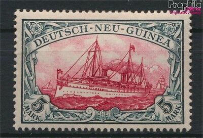 German-Guinea 19 with hinge 1901 Ship Imperial Yacht Hohenzollern (9030103
