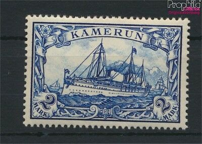 Cameroon, German Colony 17 hinged 1900 Ship Imperial Yacht Hohenzollern (9030079