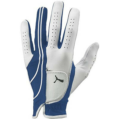 Puma Formation Performance Golf Glove (Men's RIGHT, BLUE, CADET) NEW