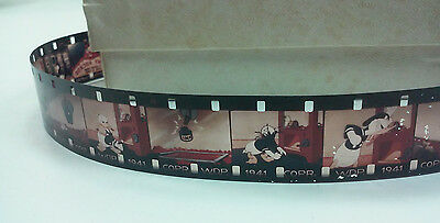 1941 Walt Disney Productions Donald Duck Penny Arcade 16Mm Full Color Film Strip