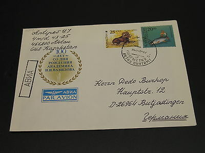 Kazakhstan 1996 cover to Germany *2054