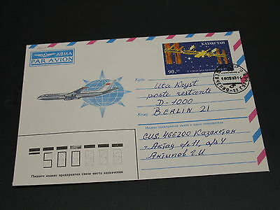 Kazakhstan 1993 cover to Germany *2051
