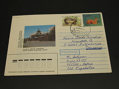 Kazakhstan 1996 cover to Germany *2066