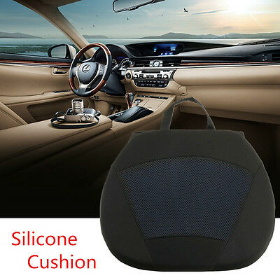 Orthopedic Silicone Gel Car Seat Office Chair Cushion Pad Driving Lumbar Support