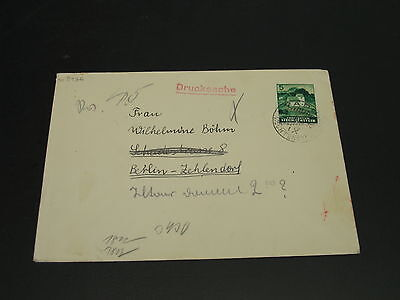 Liechtenstein 1943 censored cover to Germany stamp faulty *3936