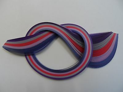 Quilling Paper 2mm  -  Purples