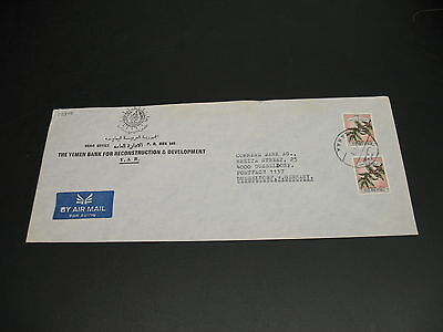 Yemen 1978 airmail cover to Germany *22840