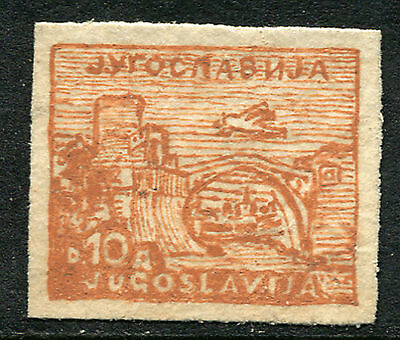 YUGOSLAVIA: (10126) unique hand-drawn facsimile