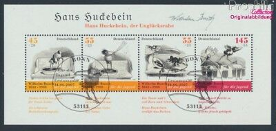 FR of Germany block71 first-day stamp fine used / cancelled 2007 Bush (8721500