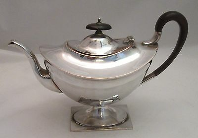An Unusual Silver Plated Tea Pot - late 19th Century