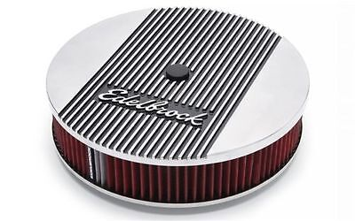 Edelbrock Elite Series Aluminum Air Cleaner Assembly 4266