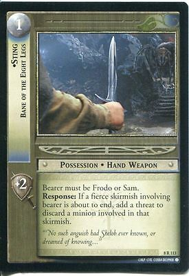 Lord Of The Rings CCG Card SoG 8.R113 Sting, Bane of The Eight Legs