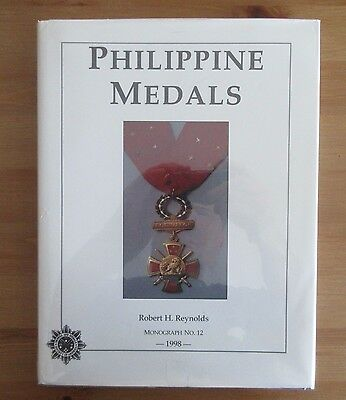 PHILIPPINES MEDALS REFERENCE BOOK REYNOLDS philippine omsa monograph